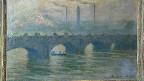 Eines der bei Cornelius Gurlitt gefundenen Werke, ein Ölgemälde von Claude Monet von 1903 aus der Serie Tower Bridge.