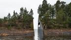 So soll die Gedenkstätte aussehen. Projekt des schwedischen Künstlers Jonas Dahlberg.
