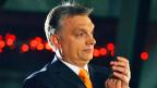 Der ungarische Premier Viktor Orban riskiert viel mit seiner «unkonventionellen Wiirtschaftspolitik».