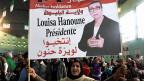 Louisa Hanoune, Präsidentschaftskandidatin der algerischen Arbeiterpartei.