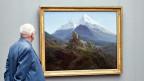 «Der Watzmann» von Caspar David Friedrich. Ein Bild aus der Sammlung Gurlitt.