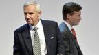 CS-Präsident Urs Rohner und CEO Brady Dougan unter Beschuss.