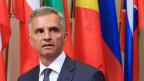 Didier Burkhalter hat als OSZE-Vorsitzender von Sanktionen gegen Russland eher abgeraten.