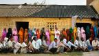 Ein Wahllokal in Jaunpur, im nordindischen Gliedstaat Uttar Pradesh - am letzten Wahltag, am 12. Mai.