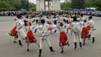 Moldawische Volkstänzer in der Hauptstadt Chisinau.