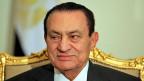 Als ägyptischer Präsident hat Hosni Mubarak öffenltiche Gelder für sich abgezweigt; dafür muss es nun ins Gefängnis. Hier ein Bild vom Februar 2011.