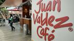 Die weltweit 300 Juan-Valdez-Coffeeshops gehören den Kaffeezüchtern; das sind fast 600'000 Kleinbauern, erklärt Maria Fernanda Concha, die Sprecherin des Branchenverbandes.