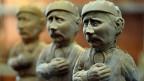 In der Ukraine kann man Wladimir Putin in Schokolade kaufen - 250 Gramm für etwa einen halben Euro.
