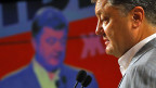 Petro Poroschenko wurde am Sonntag mit grosser Mehrheit im ersten Wahlgang zum neuen ukrainischen Premier gewählt.