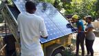 Das Potential für Solarstrom in Afrika ist gigantisch:  Technisch wäre es möglich, mehr als 1500 Mal so viel Strom zu erzeugen, wie Afrika heute verbraucht.