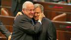 Reuven Rivlin (links) ist neuer israelischer Staatspräsident.