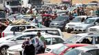 Bereits eine halbe Million Menschen sind aus der nordirkischen Stadt Mosul geflüchtet; viele von ihnen in die kurdische Stadt Erbil.
