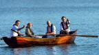 Zwar sitzen sie in Schweden im selben Boot. Einigkeit herrscht deswegen aber nicht. V.l. der britische Premier Cameron, die deutsche Bundeskanzlerin Merkel, Schwedens Premier Reinfeldt, und der niederländische Premier Mark Rutte.