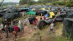 Fast 2000 Familien leben in dieser Favela – in Sichtweite des Itaquerao-Stadions von Sao Paulo.