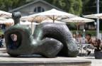 Statue vor dem Kunsthaus Zürich