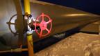 Eine Pipeline mit Gasverdichterstation in Sudzha in der russischen Region Kursk. Symbolbild.