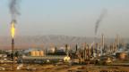 Dschihadisten sollen die grösste Öl-Raffinerie im Irak übernommen haben. Bild: Ölraffinerie in Baidschi, Irak.