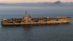 US-Präsident Obama entsandte den Flugzeugträger USS George H.W. in den persischen Golf.