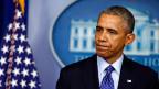 US-Präsident Barack Obama spricht über die Situation im Irak im Weissen Haus in Washington am 19. Juni 2014