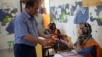 Parlamentswahl in Benghazi am 25. Juni 2014. Es ist die zweite Wahl eines Kongresses seit dem Sturz von Diktator Gaddafi im Jahr 2011.