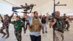 Schiitische Kämpfer in der irakischen Stadt Kerbala.