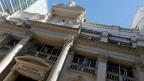 Fassade der argentinischen Zentralbank in Buenos Aires.