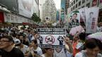 Über hunderttausend protestierten in Hongkong gegen eine festere Anbindung an Peking.