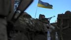 Seit dem Ende der Waffenruhe nehmen ukrainische Truppen wieder Städte in den Regionen Lugansk und Donezk unter Beschuss.