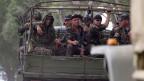 Ukrainische Soldaten haben die Milizen aus Slavjansk vertrieben.