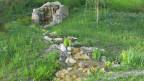 Der «Stein des Anstosses» im Park in der Berner Elfenau.