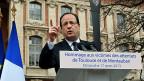 Der französische Präsident an der Gedenkzeremonie für die Opfer Merahs. Der Attentäter Mohamed Merah hat im März 2013 Frankreich in Angst versetzt. Er bezeichnete sich selbst als al-Kaida-Kämpfer und tötete in Toulouse sieben Menschen.