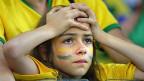 Schock und Trauer bei den Fans nach dem Halbfinal Brasilien gegen Deutschland.