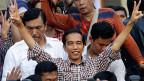 Der indonesische Präsidentschaftskandidat Joko Widodo, im Volk bekannt als «Jokowi.