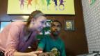 Olivia unterstützt in ihren Ferien autistische Kinder in Indien.