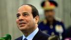 Ägyptens PräsidentAbd al-Fattah as-Sisi.
