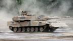 Der deutsche Kampfpanzer «Leopard 2 A7 +» von Krauss-Maffei Wegmann (KMW). Das Unternehmen fusioniert mit dem französischen Rüstungskonzern Nexter.