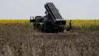 Man braucht einen Radar, eine Kommandozentrale, einen Raketenwerfer und intime Kenntnisse, um ein Flugzeug auf 10'000 Meter abzuschiessen. Symbolbild Raketenwerfer.