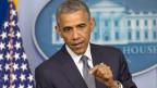 US-Präsident Barack Obama forderte eine sofortige Waffenruhe in der Ukraine und verlangte eine glaubwürdige Untersuchung des abgestürzten Flugzeugs.