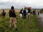 Prorussische Separatisten kontrollieren die Absturzstelle der MH17