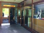 Der Eingang zum Asylzentrum Bäregg bei Langnau i.E.