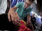 Viele Kinder werden verletzt und sterben im israelischen Angriff