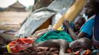 Kinder in einem Flüchtlingscamp im Südsudan.