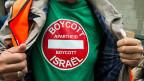Pro-palästinensische Demonstration in Lausanne am 22. Juli: Der Konflikt in Israel wurde zum Konflikt mit den Juden, und das bekommt die jüdische Gemeinschaft bei solchen Gelegenheiten zu spüren.