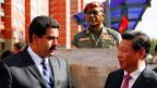 Der chinesische Präsident Xi Jinping besucht am 21. Juli den venezolanischen Präsidenten Nicolas Maduro.