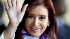 Christina Kirchner, Präsidentin von  Argentinien.
