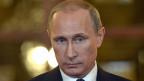 Der russische Präsident Wladimir Putin. Russlands Wirtschaft wird von den internationalen Sanktionen schwer getroffen.