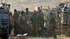 Israelische Soldaten im Gazastreifen.