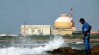 Ein von den Russen gebautes Atomkraft in Tamil Nadu, dem südlichsten Bundesstaat Indiens.