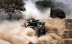 Panzer der IDF auf dem Rückzug aus dem Gazastreifen