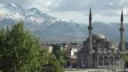 Die Stadt Kayseri liegt auf 1000 Metern über Meer, am Fusse eines grossen Vulkans,